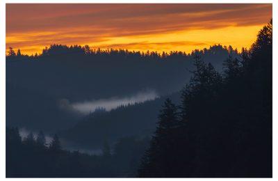 Sunrise and Fog - Item No. LS55 - $218